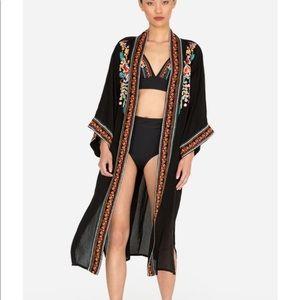 Johnny Was Vanessa Embroidered Kimono